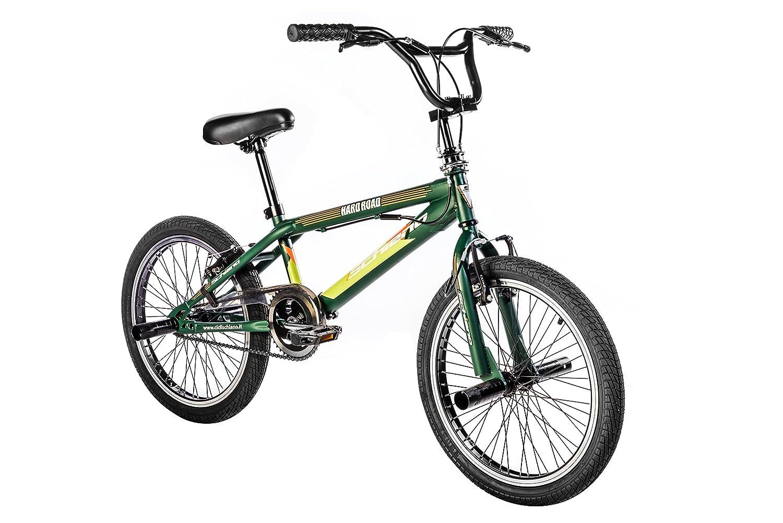 20 F.lli Schiano Hard Road BMX Bicicleta para Hombre Color Azul//Amarillo