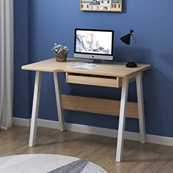 home office workstation. Cherry Tree Furniture Oak Colour Computer Desk Home Office Workstation With Keyboard Tray I