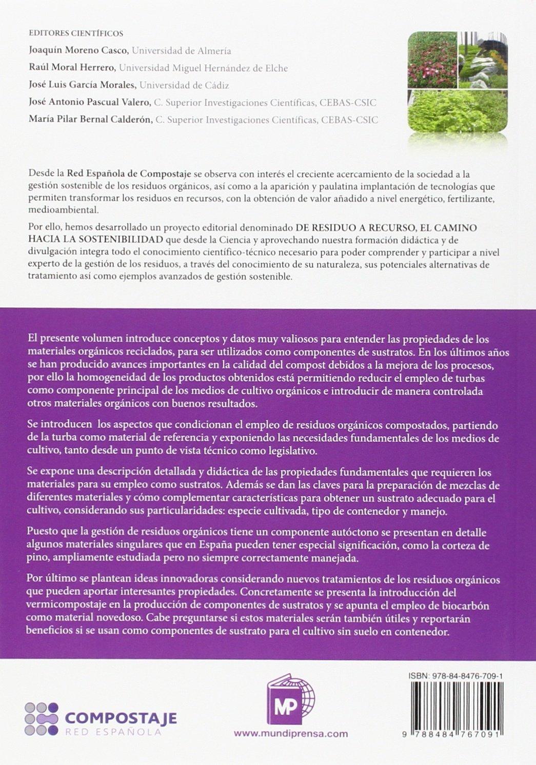 Uso del compost como componente de sustratos para cultivo en contenedor III.2: Amazon.es: RED ESPAÑOLA DE COMPOSTAJE: Libros