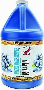 Kelco 50:1 Ultra Blue White Shampoo Gallon (KE300100)