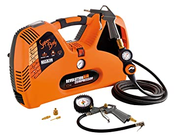 RevolutionAIR 8215240 Compresor de Aire, 230 V, multicolor Superboxy: Amazon.es: Bricolaje y herramientas