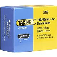 Tacwise 45mm rechte Brad afwerking nagels voor nagelpistool (2500 doos)