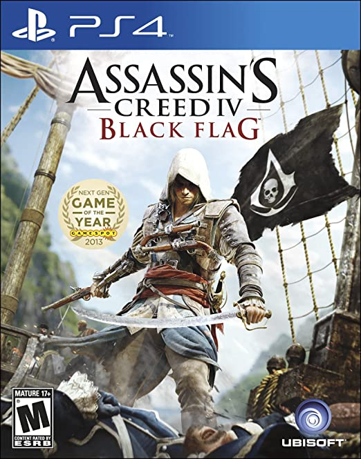 Amazon Com Assassin S Creed Iv Black Flag Playstation 4