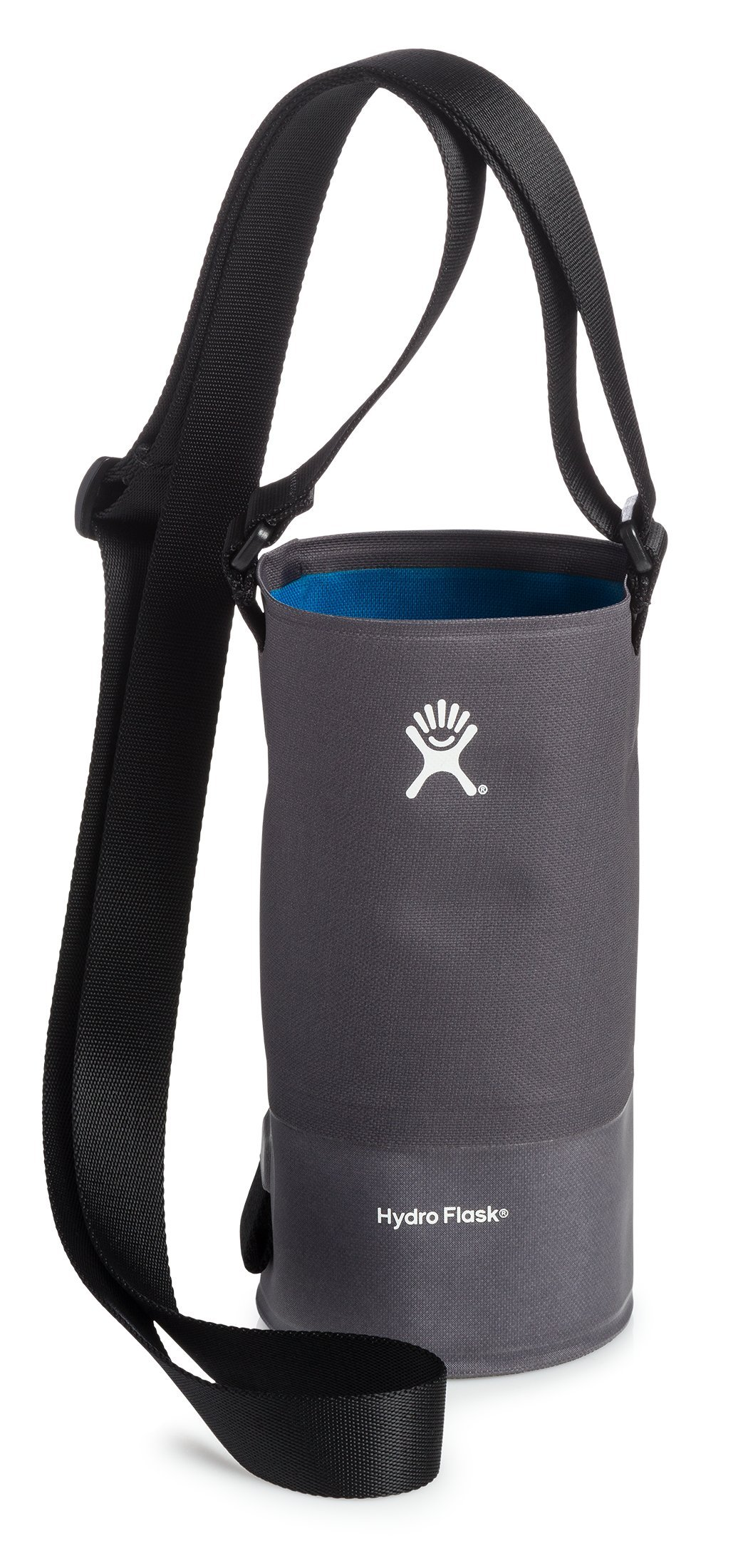Hydro Flask Large Soft Sided Nylon Tag Along Water Bottle Sling with Pockets, Black (Fits 32 oz and 40 oz Bottles)