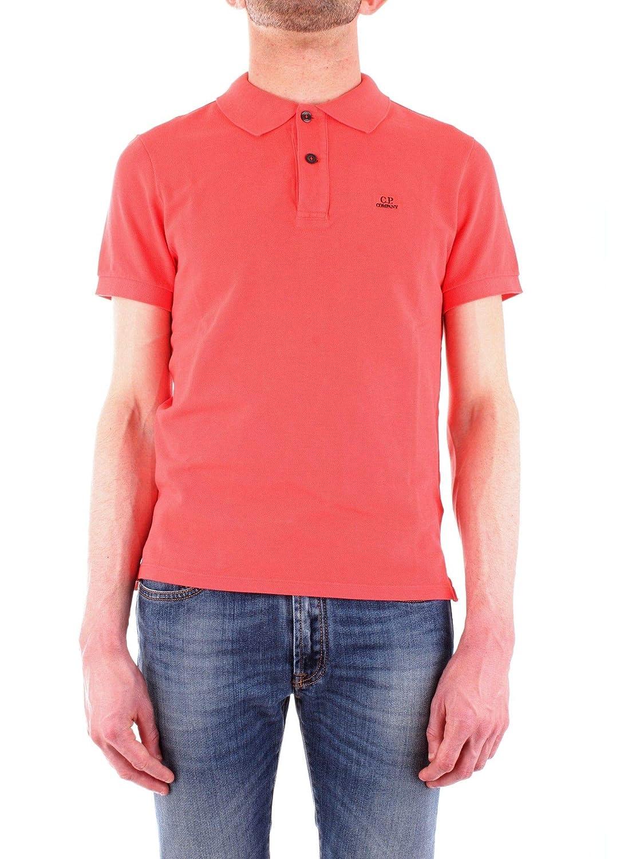 e151fe3a297e2 Cp Company Company Company Men's 06CMPL052A001672G547 Red Cotton Polo Shirt  3de4c7