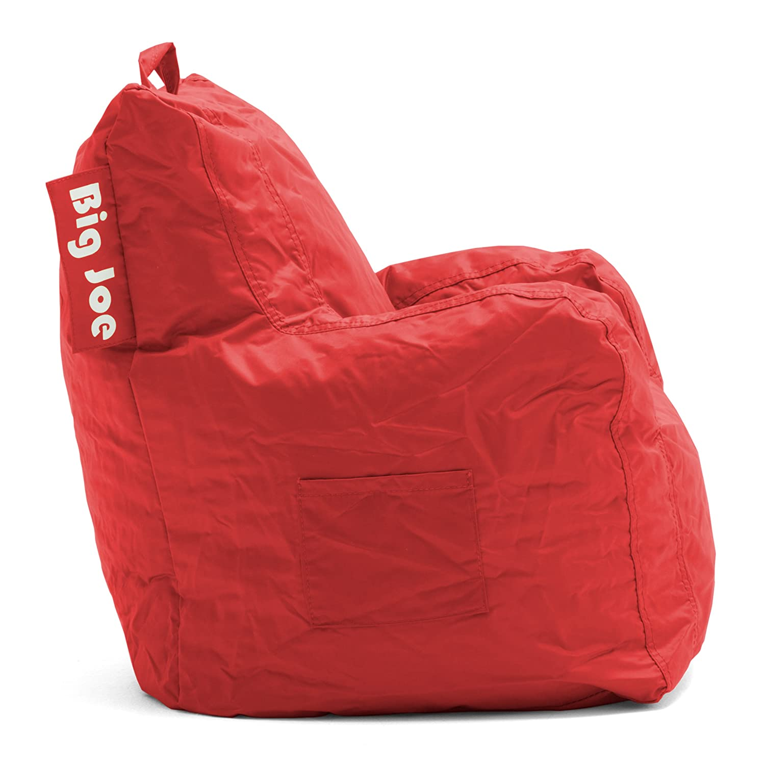 Charmant Big Joe Cuddle Chair, Flaming Red 652613