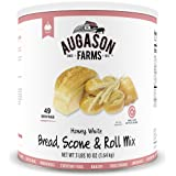 Augason Farms Honey White Bread Scone & Roll Mix 3 lbs 10 oz No. 10 Can