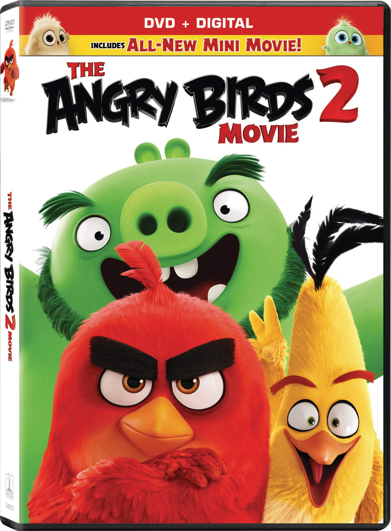 Book Cover: The Angry Birds Movie 2