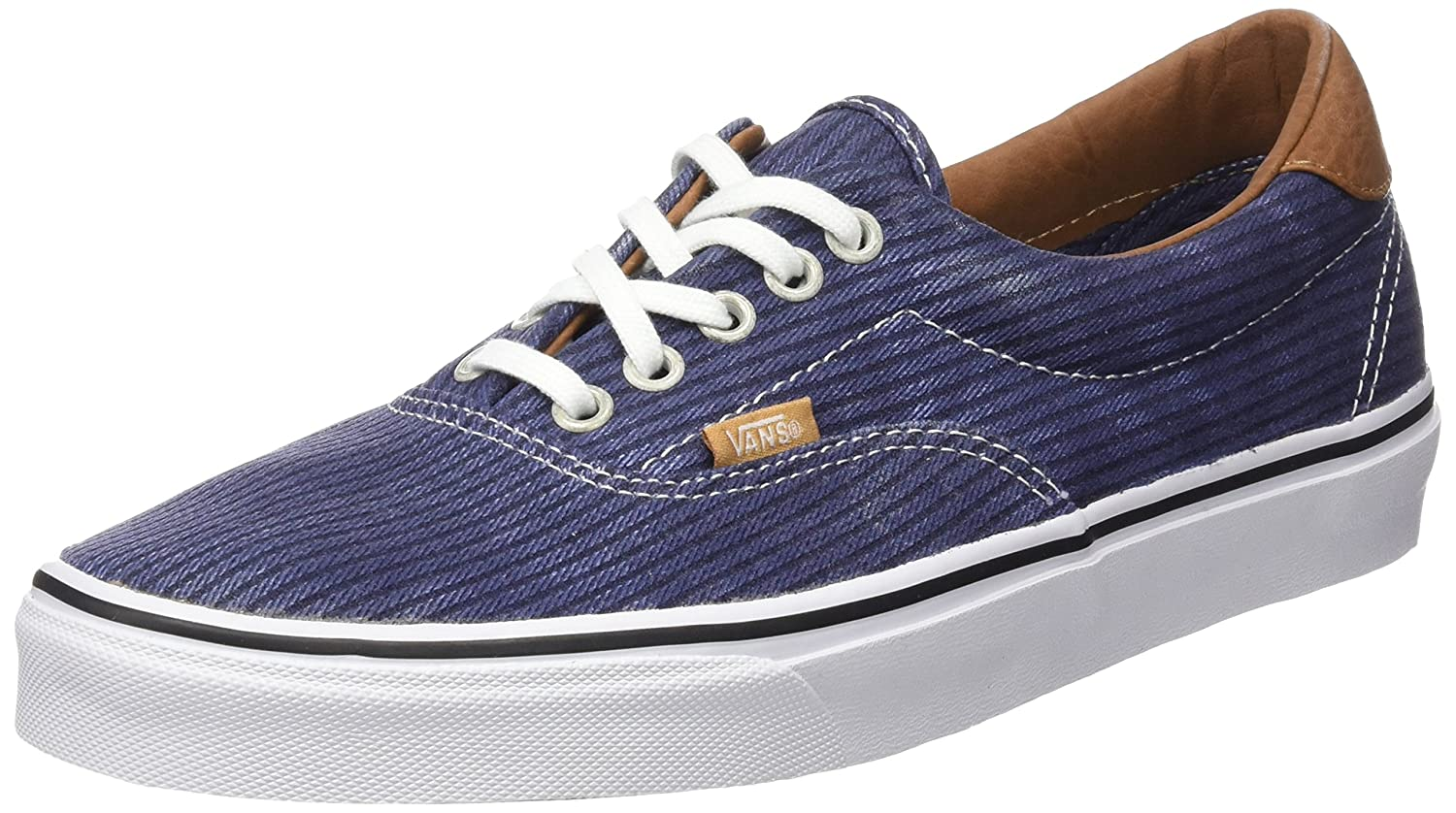 Blau (Washed Herringbone Navy) Vans Unisex-Erwachsene Era 59 Low-top