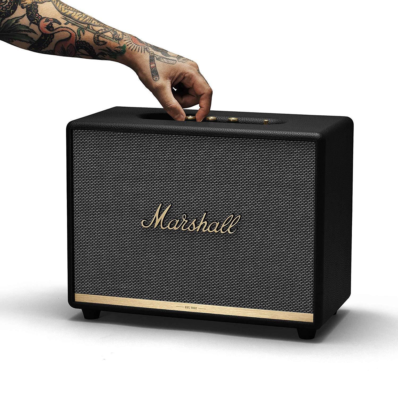 Marshall woburn ii altavoz bluetooth - negro (uk): Amazon.es ...