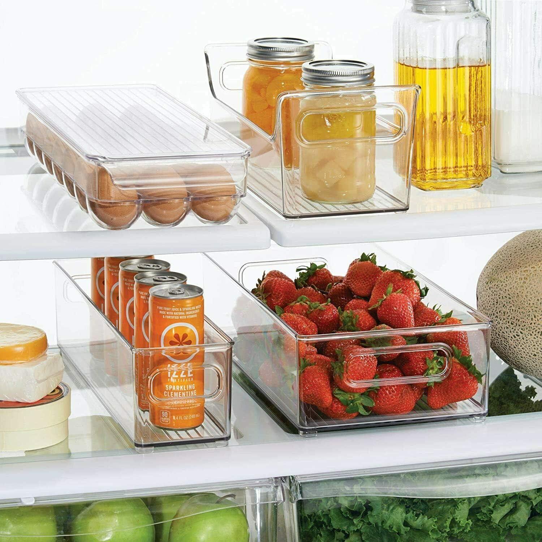 Amazon Com Fridge Binz Storage Bin Kitchen Dining