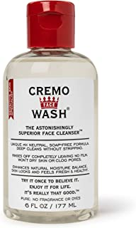 product image for Cremo Face Wash, Astonishingly Superior Face Cleanser, 6 Fluid Ounce