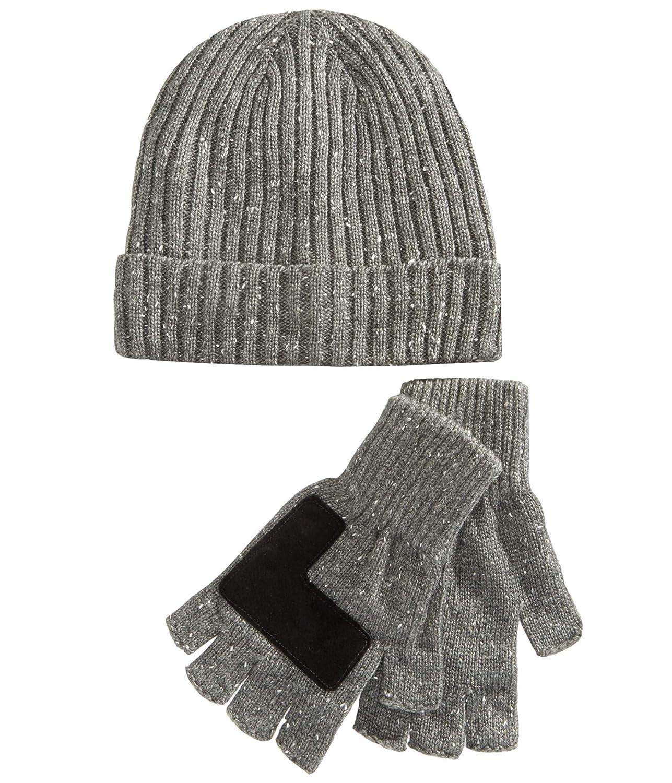 Ryan Seacrest Distinction Men/'s Donegal Fingerless Gloves