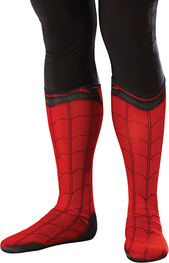 Spider-Man Homecoming Spiderman Adult Costume Boot Tops ...
