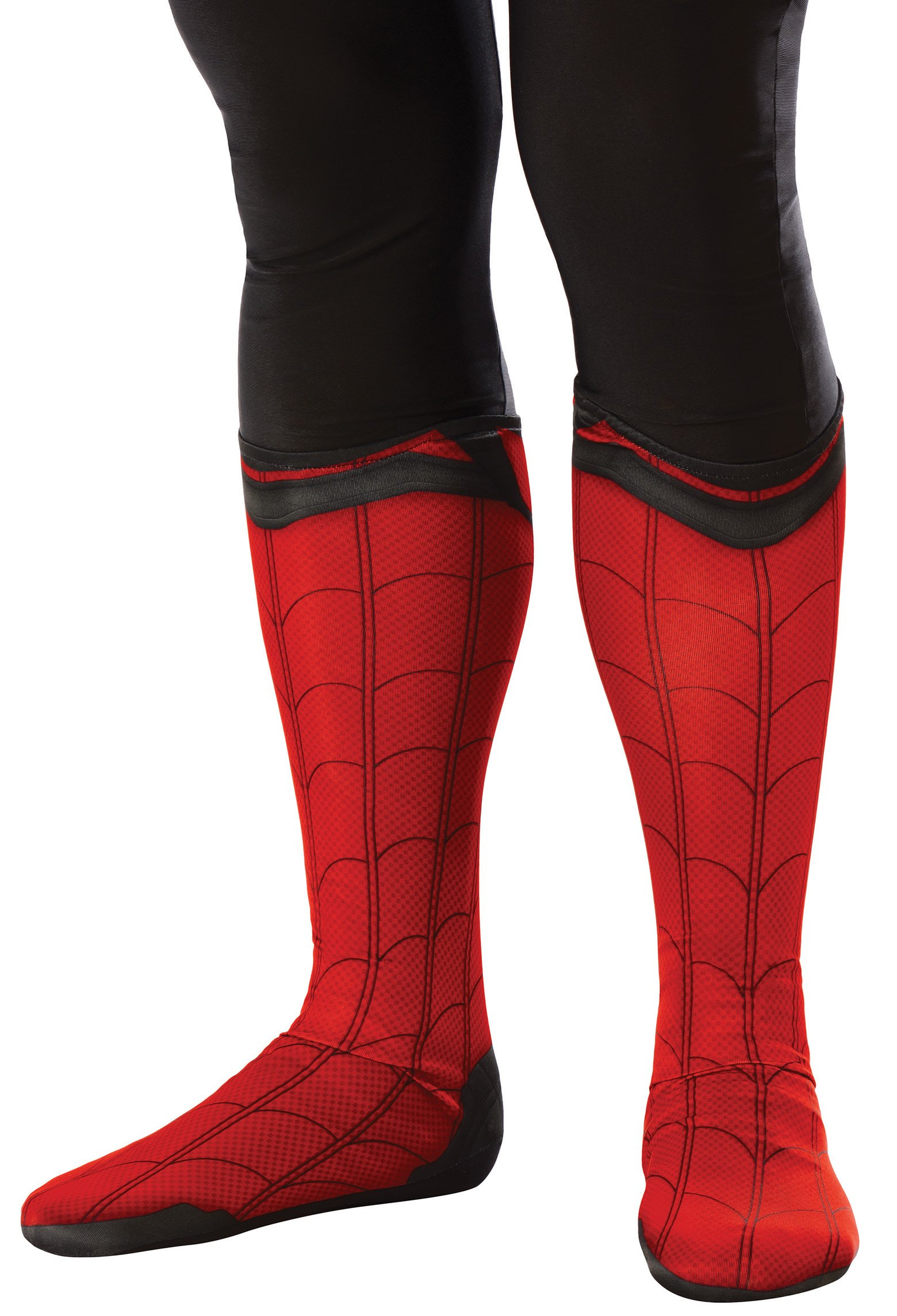 Rubie's Men's Spider-Man Adult Costume Accessories, Spider-Man: Homecoming, Boot Tops