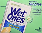 Wet Ones Singles Sensitive Skin Individually