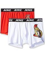 NHL Home and Away 2 Pack Fitted Boxer (Ottawa Senators)