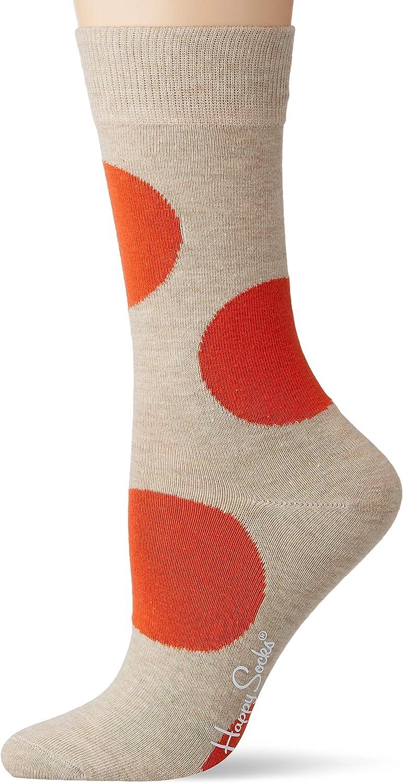 Multicolore Happy Socks Jumbo DOT Sock Calze Taglia Unica: 36-40 4//7 Multicolour 270 Donna
