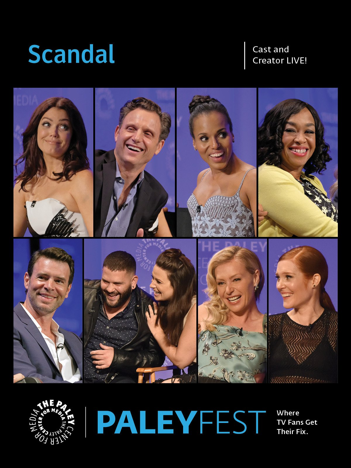 Scandal: Cast and Creator PaleyFest