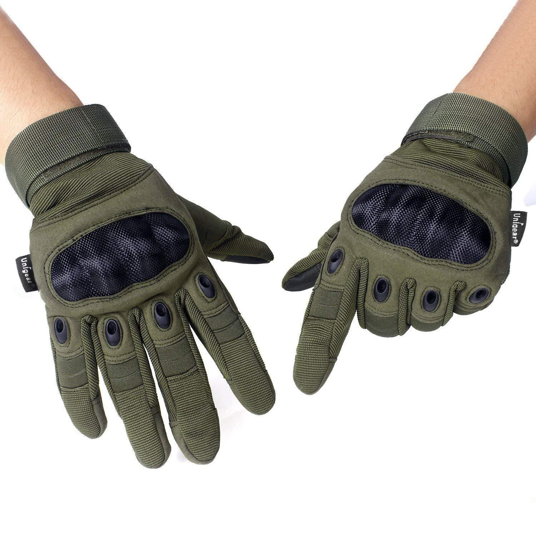 Unigear Guantes para Moto Pantalla Táctil Guantes Tácticos ...
