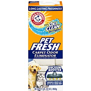 Arm & Hammer Carpet Odor Eliminator, Pet Fresh 30 oz.