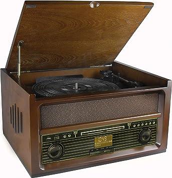 Soundmaster NR515 - Tocadiscos para equipo de audio: Amazon.es ...