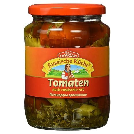 Dovgan Russische Küche Tomaten nach russischer Art, 680 g: Amazon.de ...