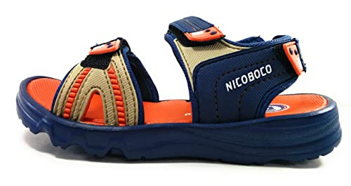 450d0a93c41d Nicoboco Boys  Thong Sandals Blue Blue  Amazon.co.uk  Shoes   Bags