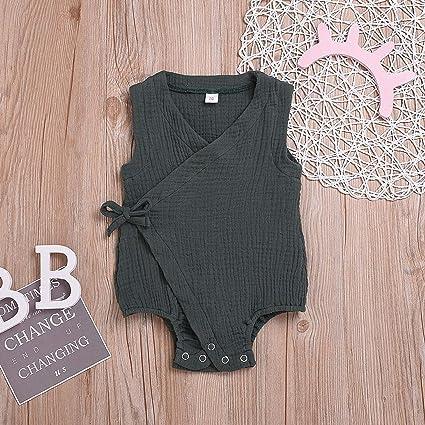 Amazon.com : Summer Toddler Infant Baby Boys Girls Cotton Linen ...