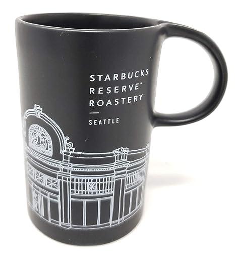 Starbucks Reserve Roastery Seattle 10oz Mug Black