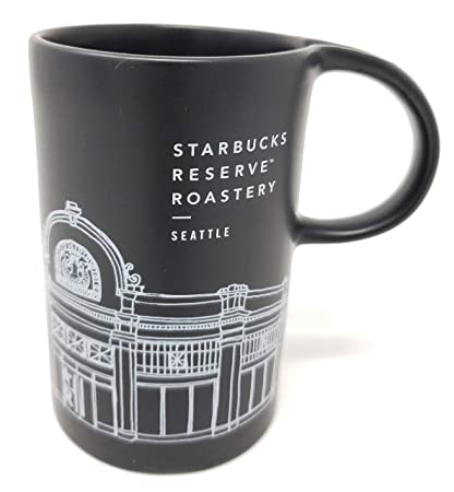 Roastery 10oz Mugblack Reserve Starbucks Seattle xroBWdeCQE