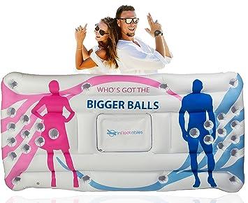 Última batalla de los sexos, juego de beber – flotante de flotador de piscina hinchable
