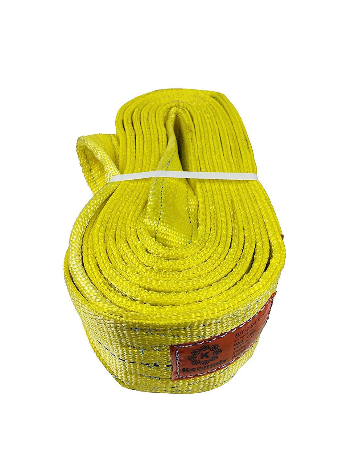 Various Sizes in Listing Made in The USA Powerlift PL5 Polyester Round Sling Kennedy Wire Rope /& Sling Co