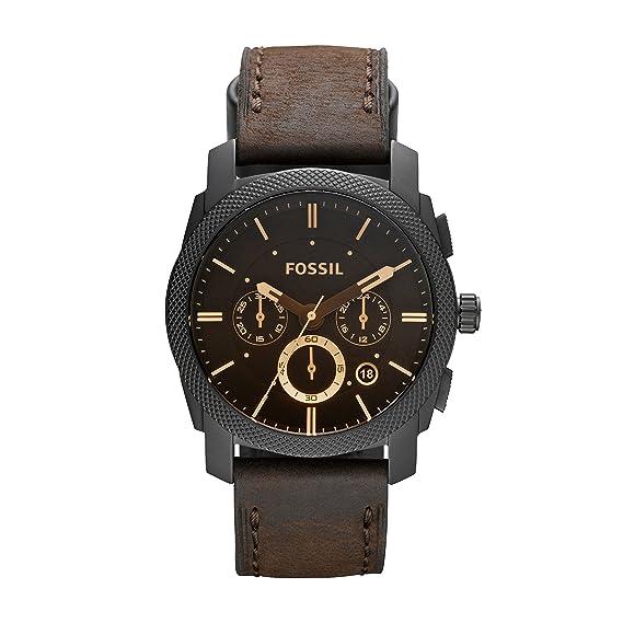 reunirse amplia selección de colores disponible Fossil Reloj Cronógrafo para Hombre de Cuarzo con Correa en Cuero FS4656