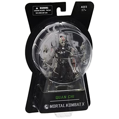 "Entertainment Earth Mortal Kombat X Series 2 Quan Chi 6"" Action Figure: Toys & Games"