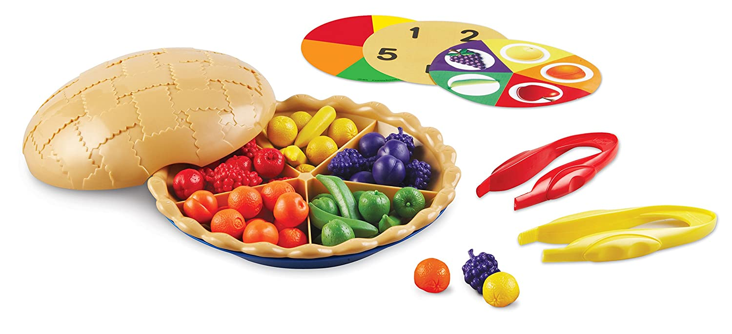 Learning Resources Super Sorting Pie, Fine Motor Toy
