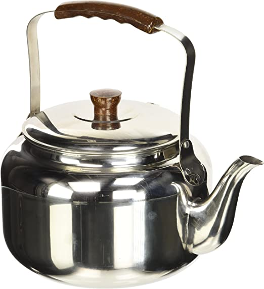 Silver//Brown 1.75 litre ibili Kettle