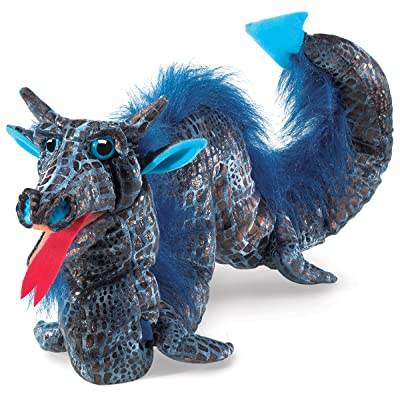 Folkmanis Sea Serpent Hand Puppet: Toys & Games