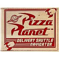 Cartera de Toy Story Pizza Planet Efecto Desgastado