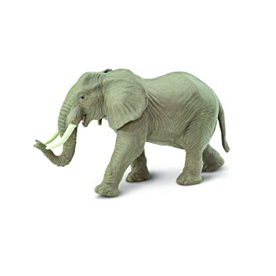 Safari Ltd Wild Safari Wildlife African Elephant: Toys & Games