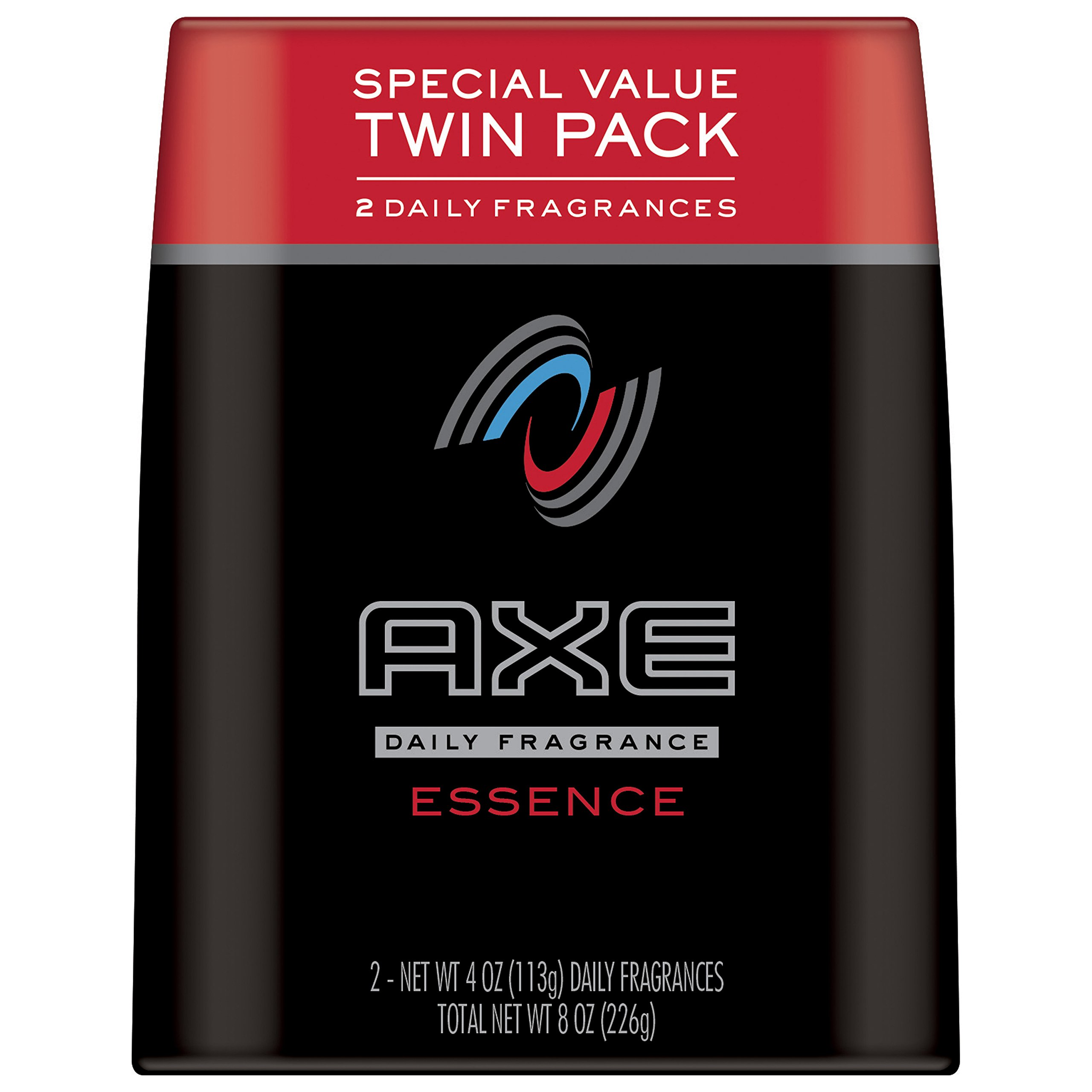AXE Body Spray for Men, Essence, 4 oz, Twin Pack