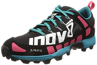 Inov-8 X TALON - Trail running shoes - black/pink/teal Tl1VKPVbE