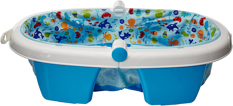 Amazon.com : Summer Infant Fold Away Baby Bath : Baby Bathing Seats ...