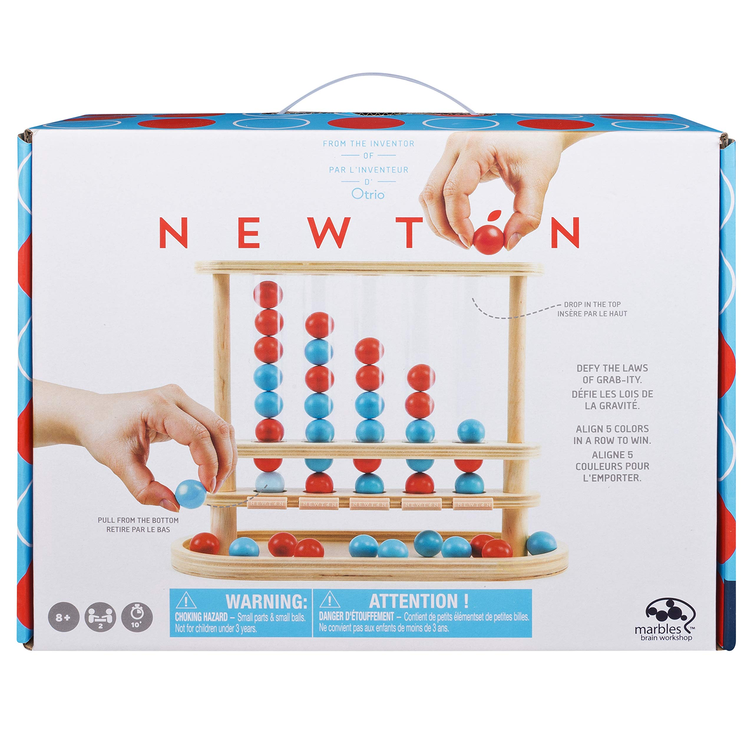 Marbles 6045061 Wooden Game Newton Mix
