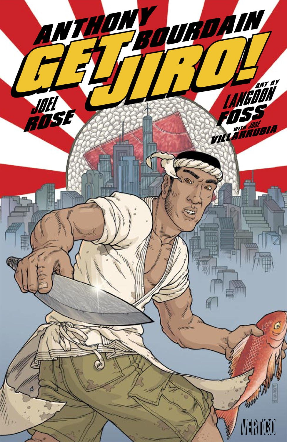 Image result for anthony bourdain Get Jiro!