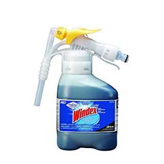 Windex Glass Cleaner with Ammonia-D Super Concentrate (1.5-Liter, RTD Pack)