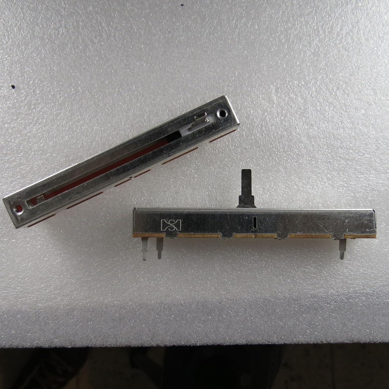 Unbekannt Schiebe Potentiometer 1k ohm Poti Linear Mono 500mW Metall Slider Crossfader