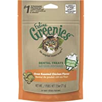 Greenies Feline Dental Cat Treat Chicken Flavour, 71g Bag