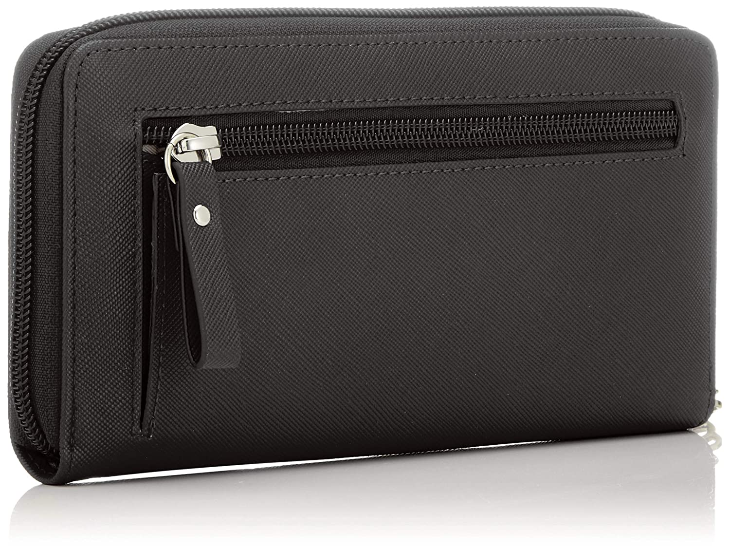 Details zu Tamaris Maxima Big Zip Around Wallet Geldbörse Silver Silber Neu