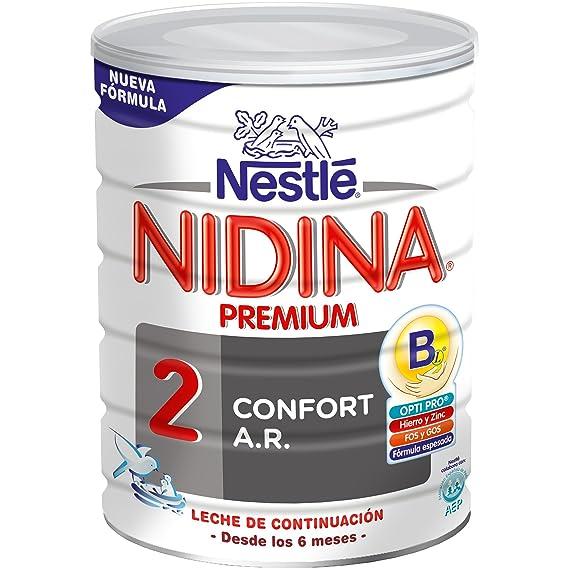 NESTLÉ NIDINA CONFORT DIGEST 2 - A partir de los 6 meses - Leche de continuación en polvo - Fórmula para bebés - 800g: Amazon.es: Alimentación y bebidas